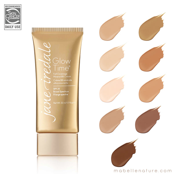 GLOW TIME® Crème BB minérale ultra couvrante | Jane iredale - Ma Belle Nature