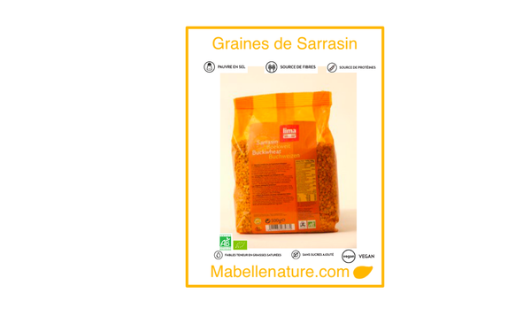 Lima | Sarrasin -Bio -500g - Ma Belle Nature