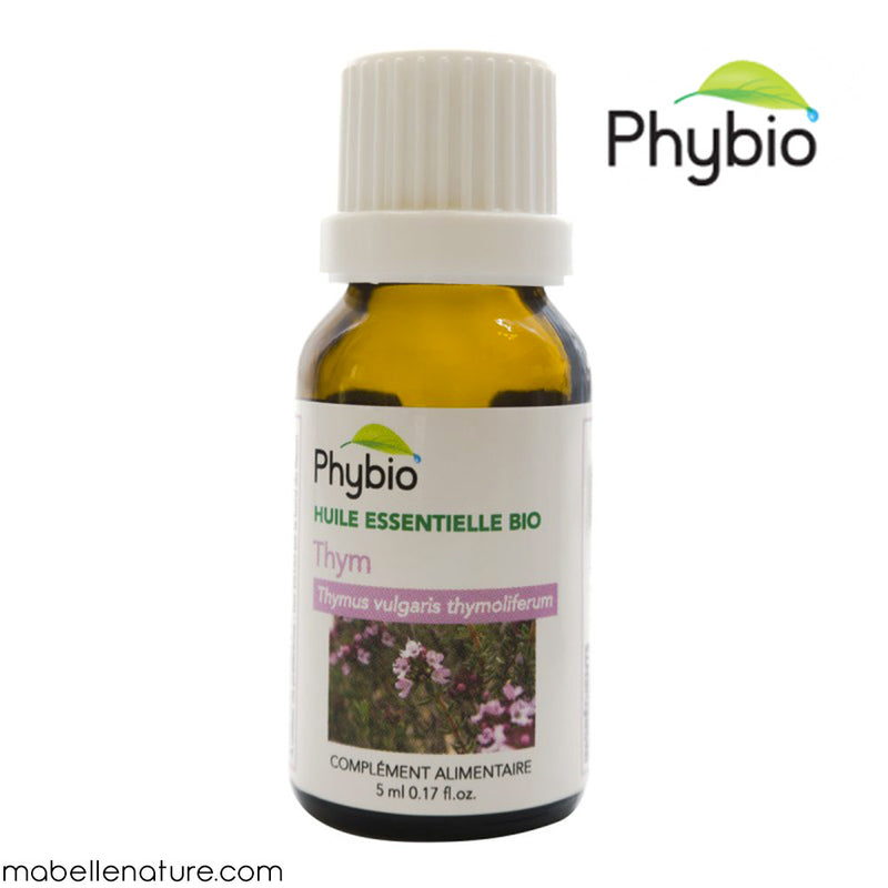 Thym à thymol Bio (5ml) - Huile essentielle Phybio - Ma Belle Nature
