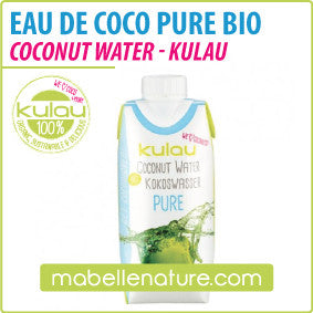 Eau de Coco Bio Pure (Kulau, 330ml) - Ma Belle Nature