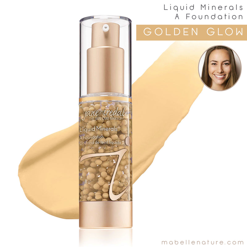 liquid minerals a foundation jane iredale golden glow
