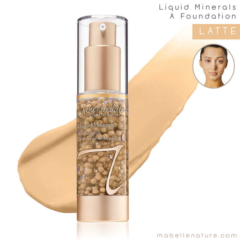 liquid minerals a foundation jane iredale latte