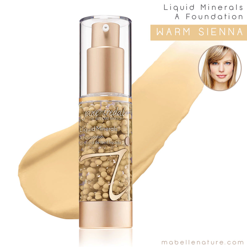 liquid minerals a foundation jane iredale warm sienna