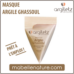 Berlingot - Masque à l'argile ghassoul (Argiletz) - Ma Belle Nature