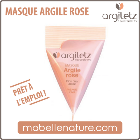 Berlingot - Masque à l'argile rose (Argiletz) - Ma Belle Nature