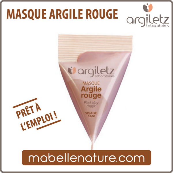 Berlingot - Masque à l'argile rouge (Argiletz) - Ma Belle Nature