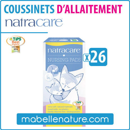 Coussinets d'allaitement (26) - Natracare - Ma Belle Nature