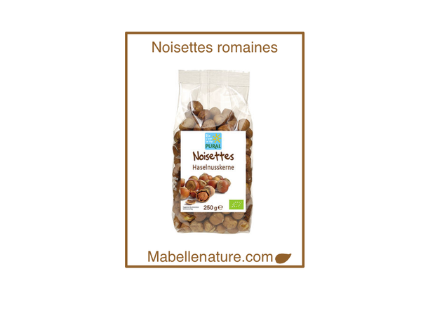 Pural | Noisettes romaines Bio - 250g - Ma Belle Nature