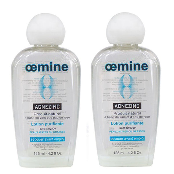Oemine ACNEZINC Lotion 125ml - Ma Belle Nature