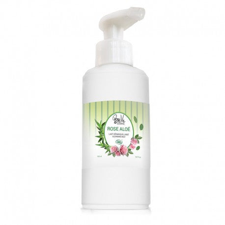 ROSE ALOE BELLE - Lait démaquillant certifié bio 150 ML - Ma Belle Nature