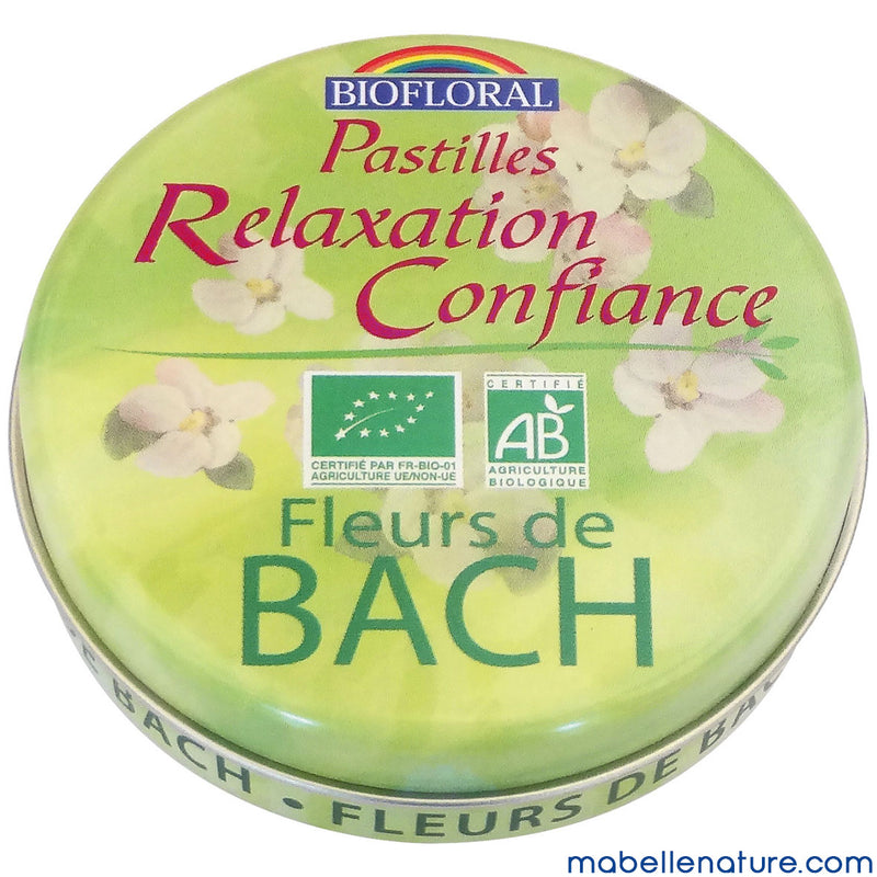 Pastilles Biofloral - Relaxation Confiance
