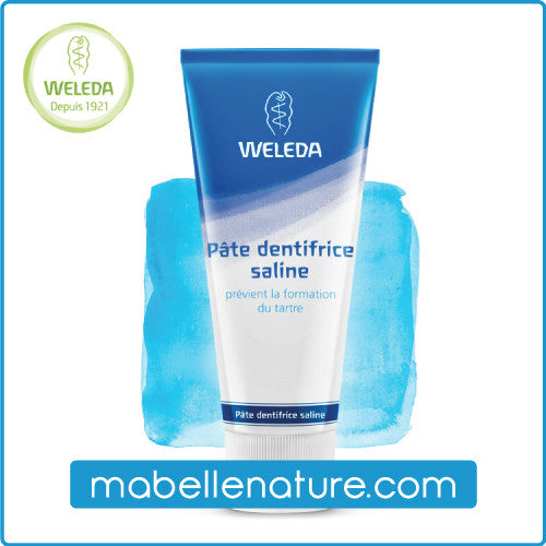 Dentifrice pâte saline - Weleda (Bio, 75ml) - Ma Belle Nature