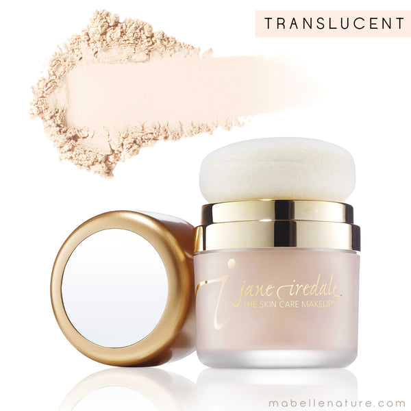 powder me sunscreen jane iredale translucent