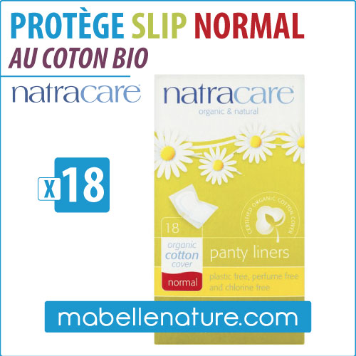 Protège slip au coton bio NORMAL (18) - Natracare