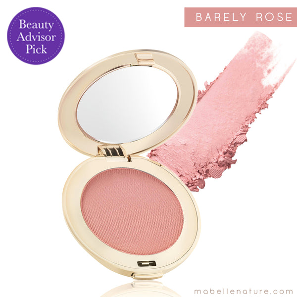 purepressed blush jane iredale barely rose