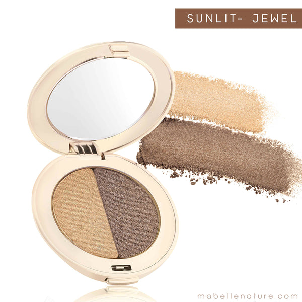 PurePressed Eye Shadow double - Jane Iredale - sunlit jewel
