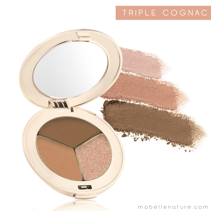 PUREPRESSED® Fard à Paupières Triple | Jane Iredale - Ma Belle Nature