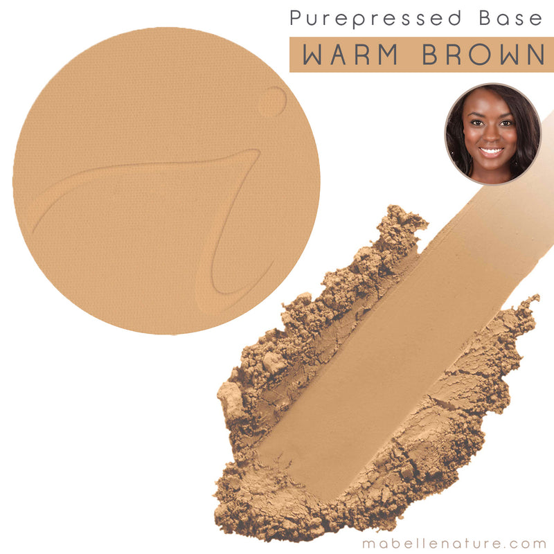 PUREPRESSED BASE warm brown Jane Iredale