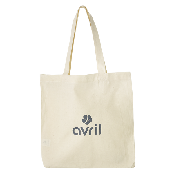 Sac en coton bio Avril 39 x 39cm - AVRIL COSMETIQUE BIO - Ma Belle Nature