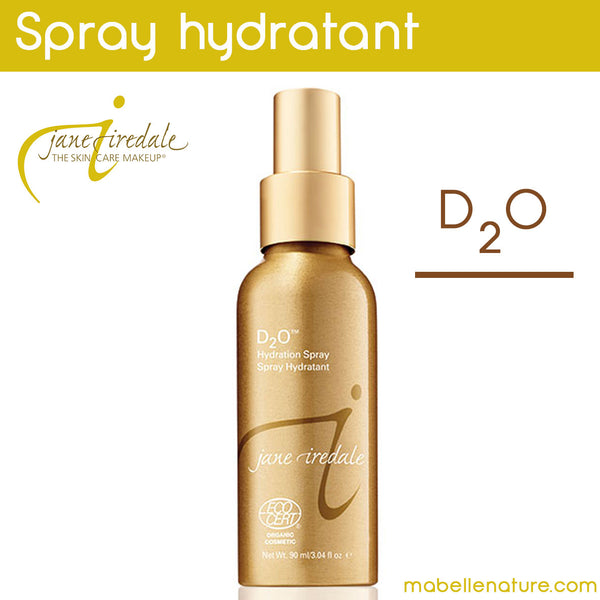 Spray Hydratant D20 (Ecocert) - Ma Belle Nature