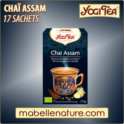 Chaï Assam - Infusion Yogi Tea - Ma Belle Nature