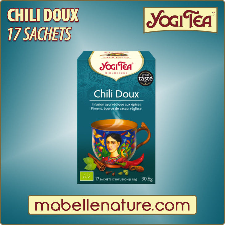 Chili doux - Infusion Yogi Tea