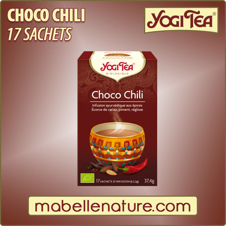 Choco chili - Infusion Yogi Tea - Ma Belle Nature