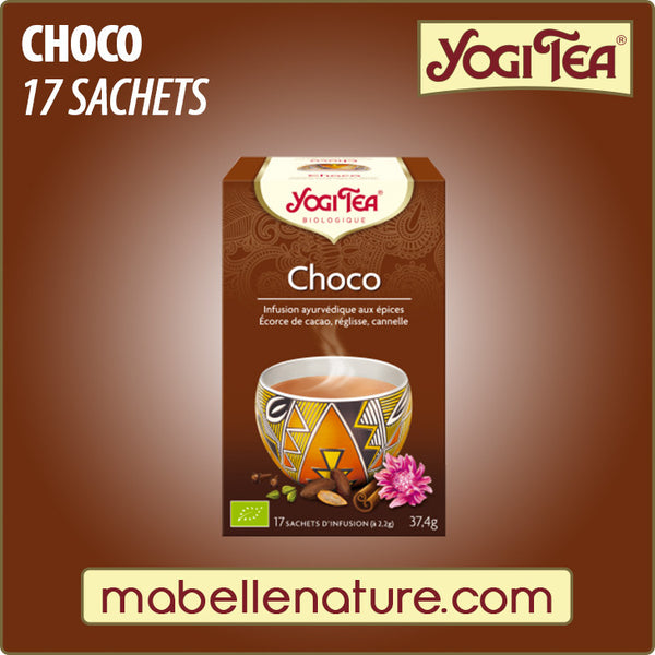 Choco - Infusion Yogi Tea - Ma Belle Nature