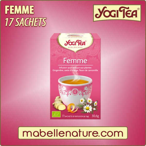 Femme - Infusion Yogi Tea - Ma Belle Nature