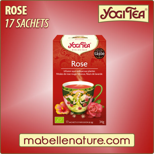 Rose - Infusion Yogi Tea - Ma Belle Nature