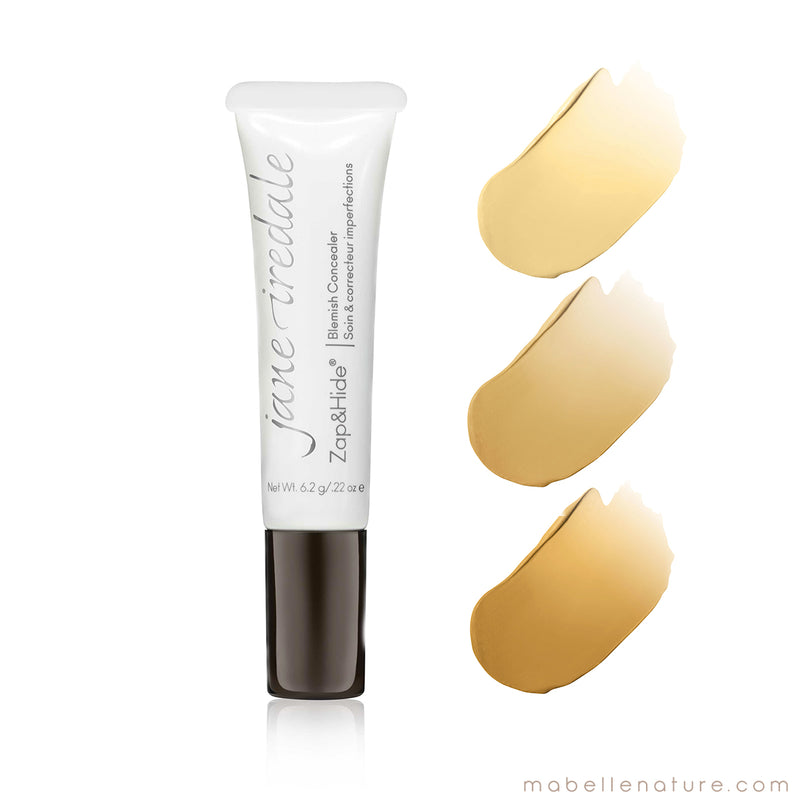 Zap&Hide Soin & correcteur des imperfections | Jane Iredale - Ma Belle Nature