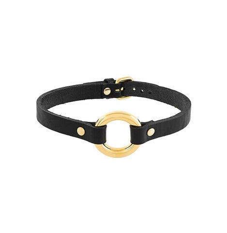 Absidem Kitten Collar - Black/Gold