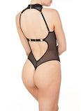 Bordelle Kew High Neck Body - BLACK