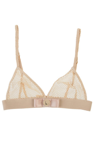 Kriss Soonik Silvia Fishnet Triangle Bra