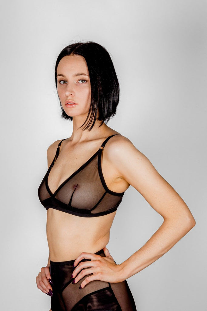 Bully Boy Vivienne Bra - BLACK