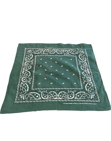 Dollar Green Bandana