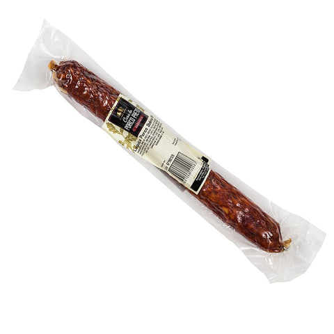 Linguiça - Iberian black pig chouriço. Acorn Fed, 3 months cured 180g