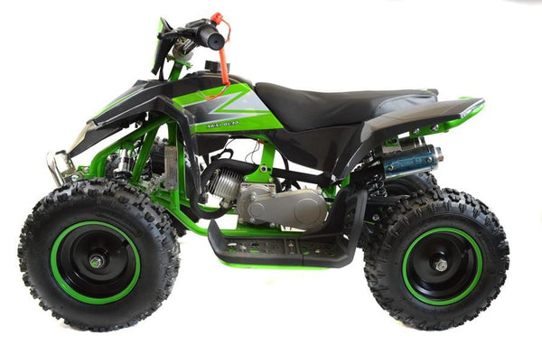 800w Z20 Kids ELECTRIC ATV Quad Bike - Green