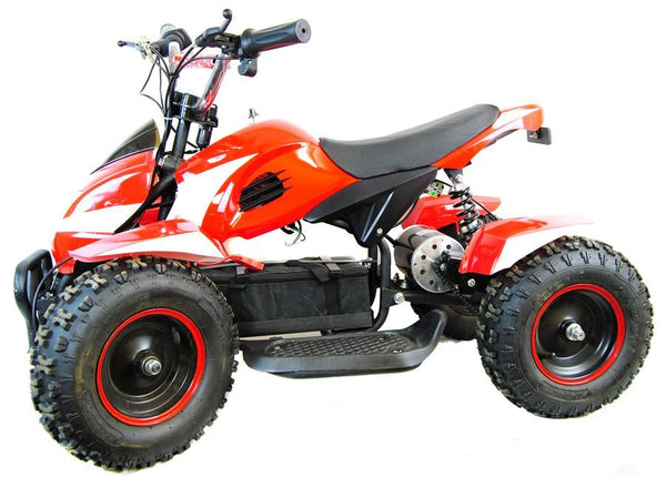 800W Zipper Electric Kids Quad Bike - Red