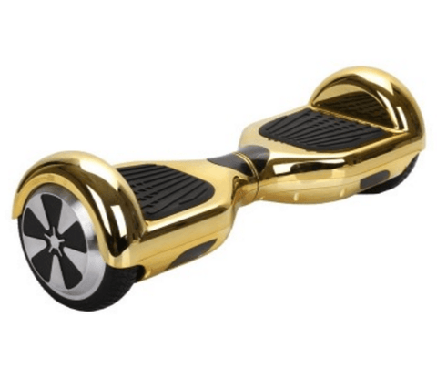 Classic Swegway Chrome Gold Hoverboard