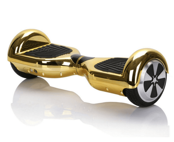 Swegway Classic Hoverboard (Bluetooth Optional)- Chrome Gold