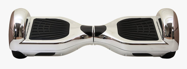Swegway Classic Hoverboard (Bluetooth Optional) - Chrome Silver