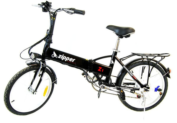 "Z1 7-Speed Compact Folding Electric Bike 20"" - Black - ON PRE-ORDER"