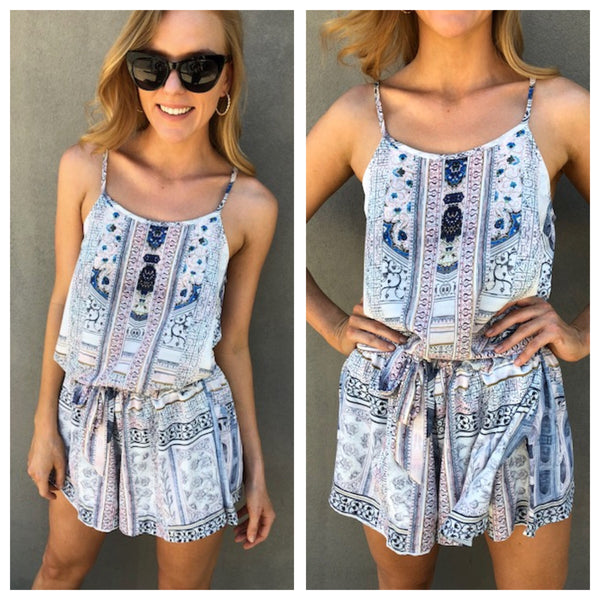 Temple Playsuit