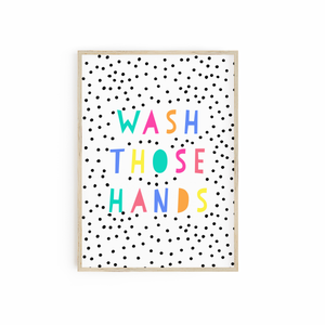 Wash Those Hands - Brights