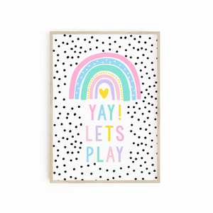YAY! Lets Play - Bright Pastels