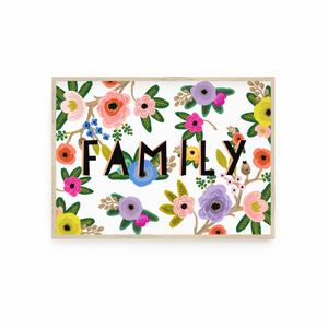 Family Floral print