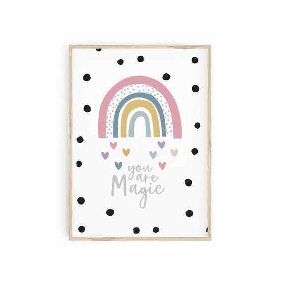 You are Magic Rainbow - Muted Pastels