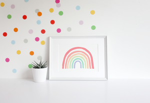 Pastel Traditional Rainbow