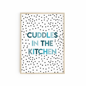 Cuddles in the Kitchen